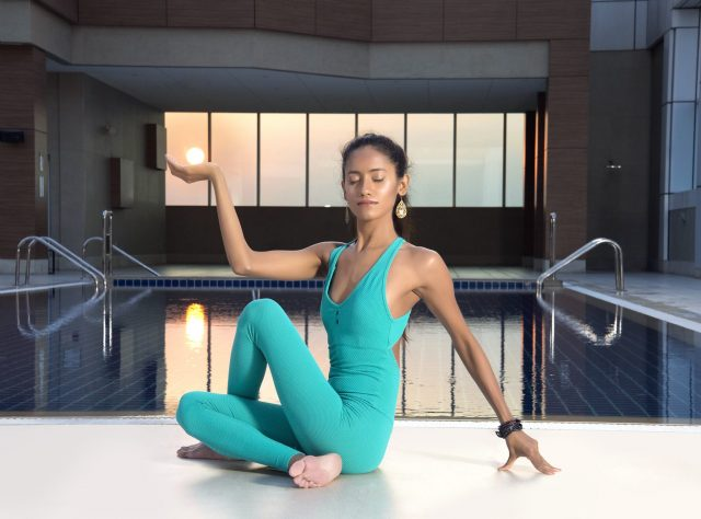 full moon yoga classes in dubai sheraton grand hotel