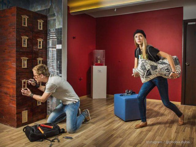 Indoor games in Dubai - Escape Game at Phobia Dubai
