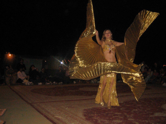 Desert Adventure in Dubai - Belly Dancing at Desert Safari