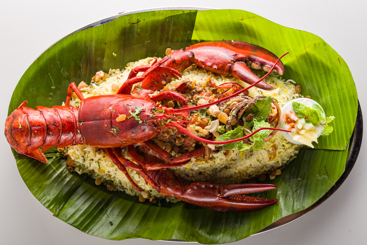 The 'Lobster Mandi' at Burger and Lobster Dubai