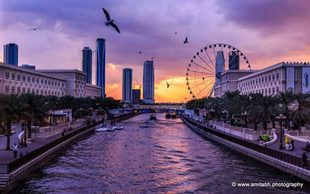 Road trips from Dubai - Al Qasba Sharjah