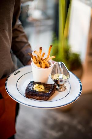 Steak Frites at The Maine Oyster Bar & Grill Dubai