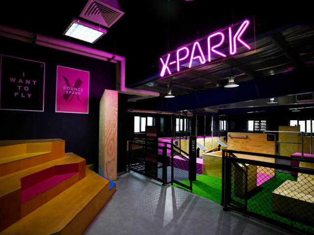 Indoor games in Dubai - X-Park at Bounce Dubai