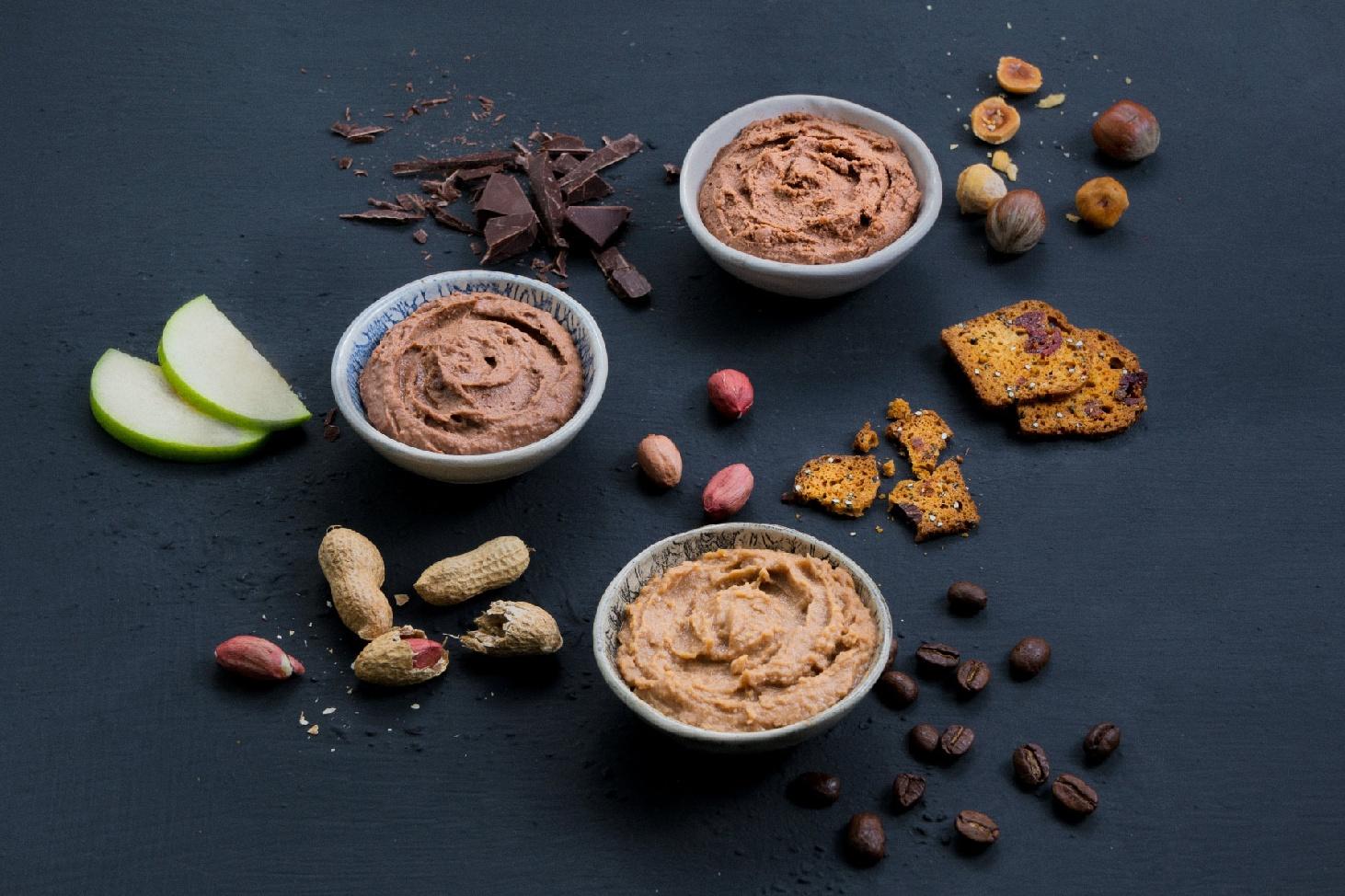 Chocolate Hummus Dips at Kcal