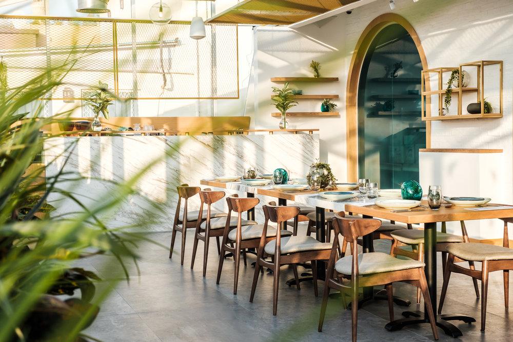 Society restaurant in Dubai