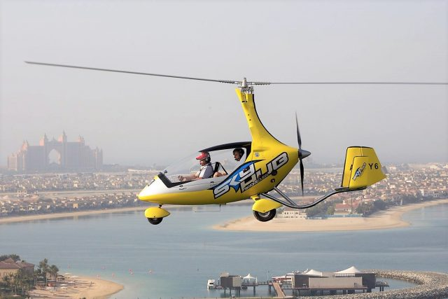 air adventures in dubai skyhub gyrocopter skydive dubai