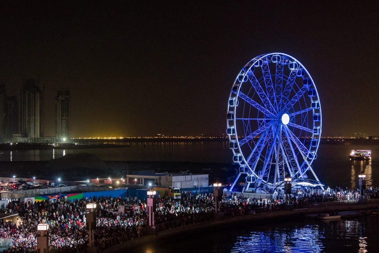 Attractions in Dubai Landmarks - Ferris Wheel Dubai Festival City Mall