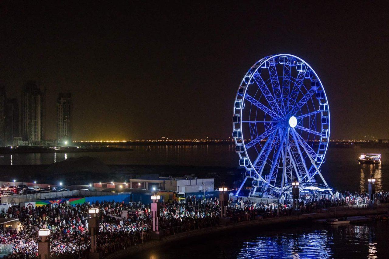 Attractions in Dubai Landmarks - Ferris Wheel Dubai Festival City Mall