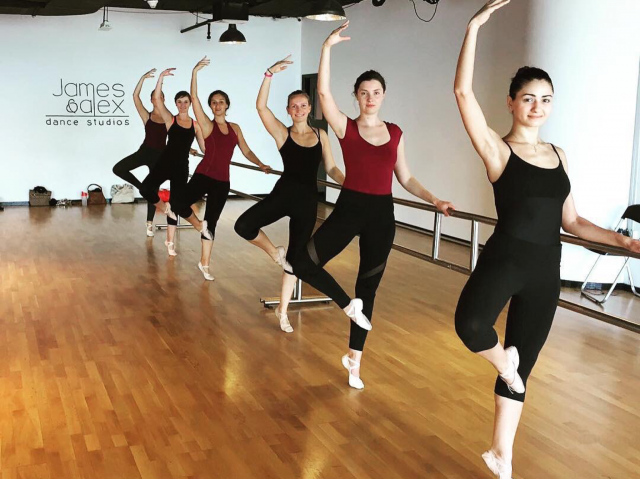 Dance classes in Dubai - ballet salsa dance classes at James & Alex