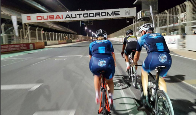 cycling tracks in dubai - dubai autodrome