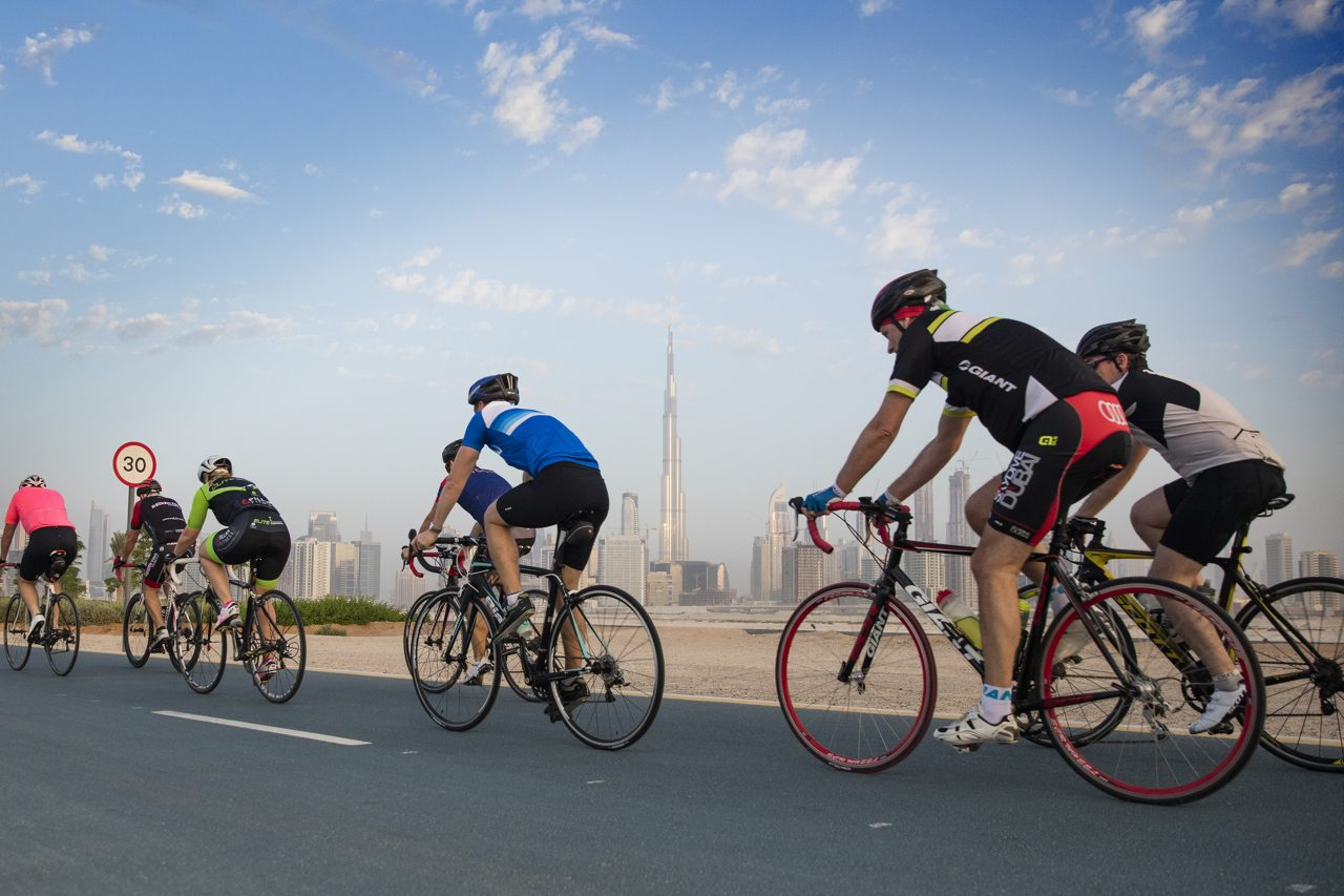 cycling tracks in dubai - spinneys 92 cycle challenge Cropped (1)