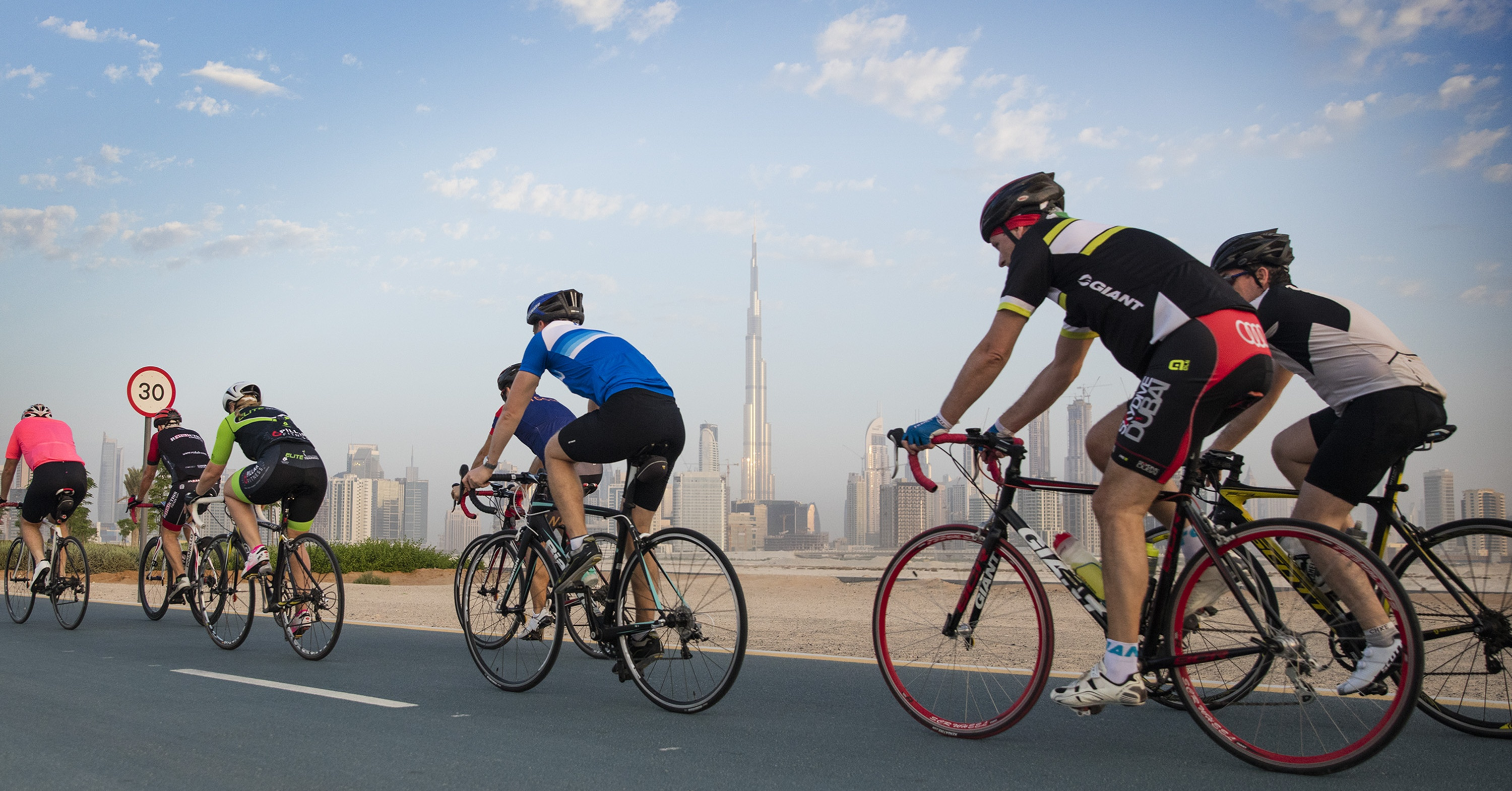 cycling tracks in dubai - spinneys 92 cycle challenge Cropped