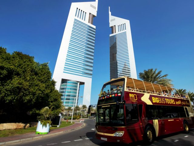 dubai sightseeing - big bus dubai tour