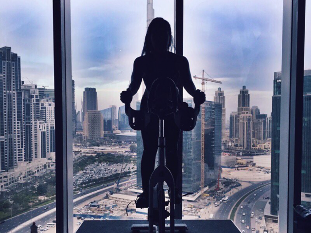 spinning classes in Dubai - Motion Cycling Dubai spin class