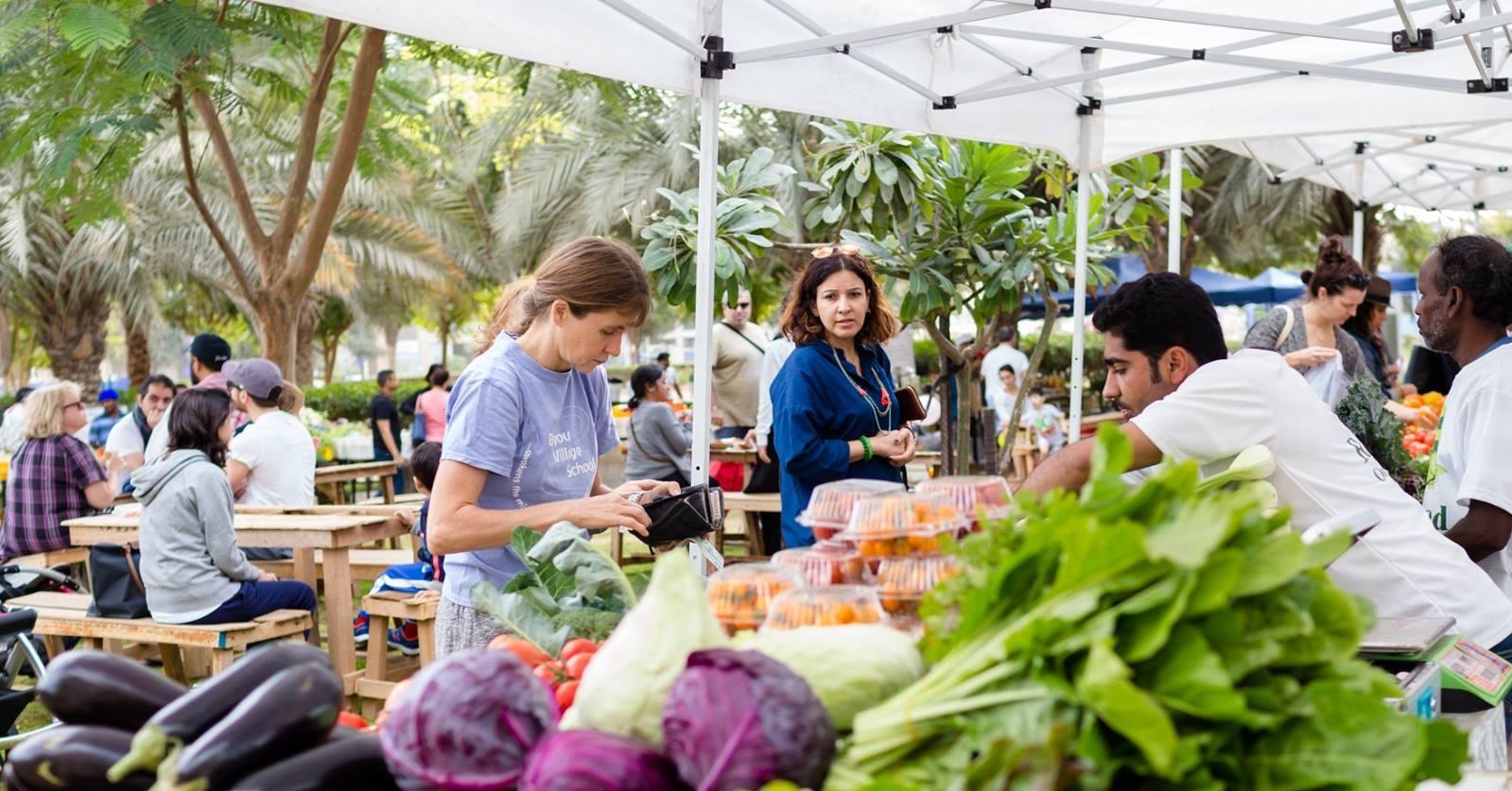 Markets in Dubai - Farmers Market