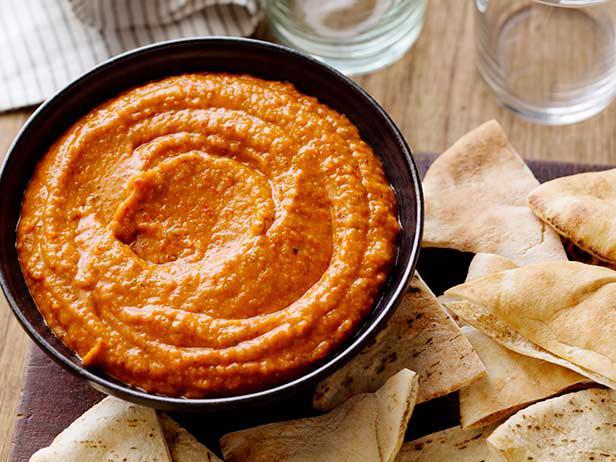 Red Pepper Hummus at BarSalata