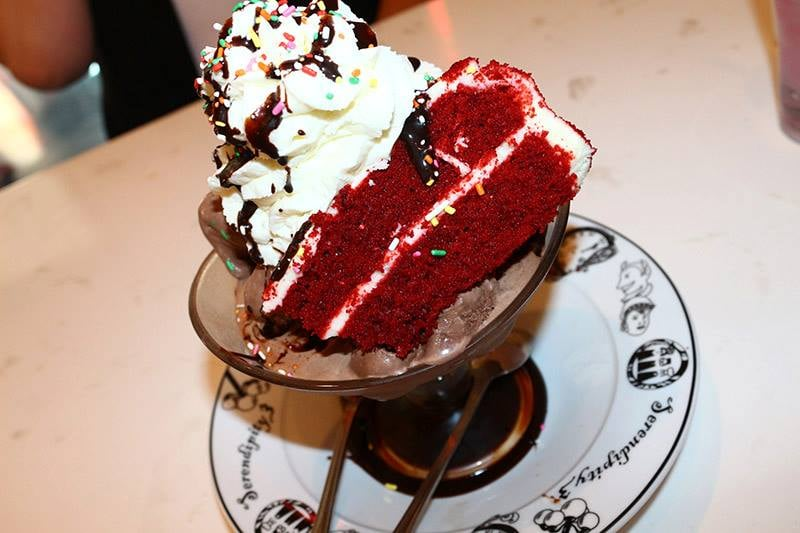 Red Velvet Milkshake at Serendipity 3