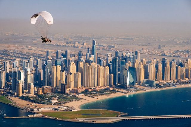 Sky-high air adventure in Dubai - Skyhub Paramotors
