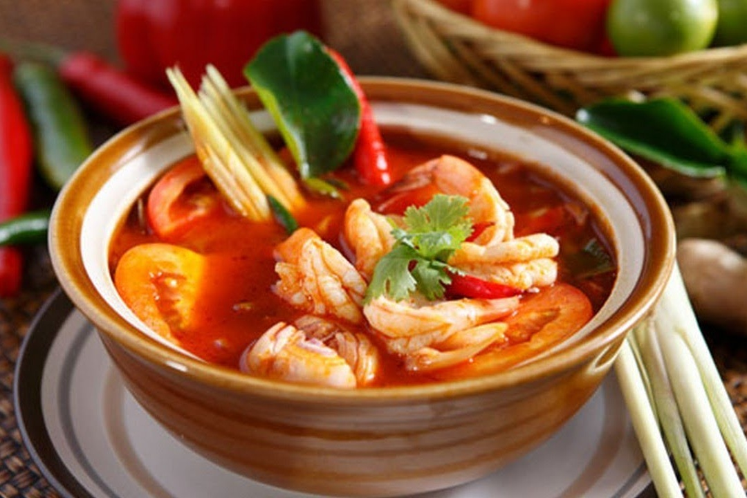 Tom Yum Soup Dubai