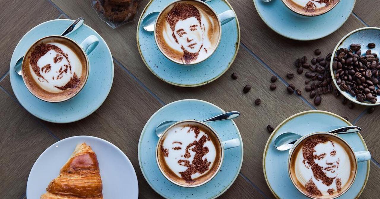 coffee art at Tub of Butter Dubai