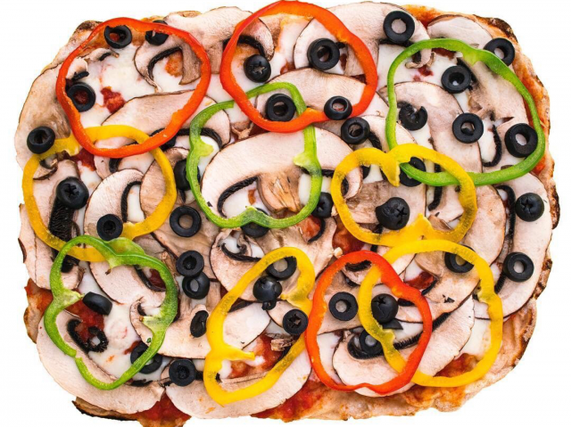 Vegan Pizza in Dubai - Pinza