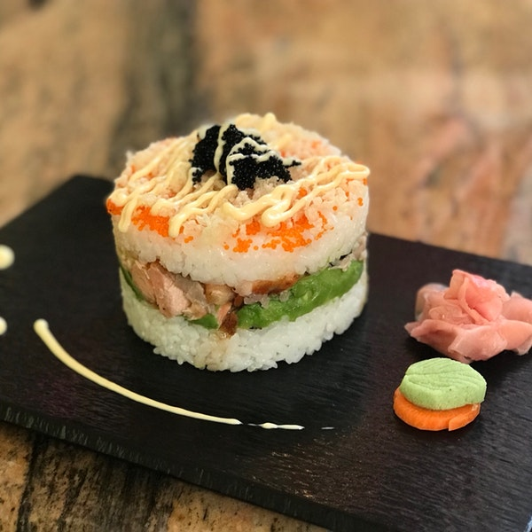 Sushi doughnuts in Dubai at Yakitate Japanese Boutique Bakery & Cafe