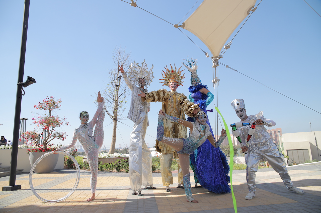 Jebel Ali Recreation Club in Dubai starts a Circus-themed brunch