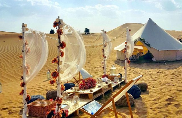 dubai adventure bucket list - Arabian glamping
