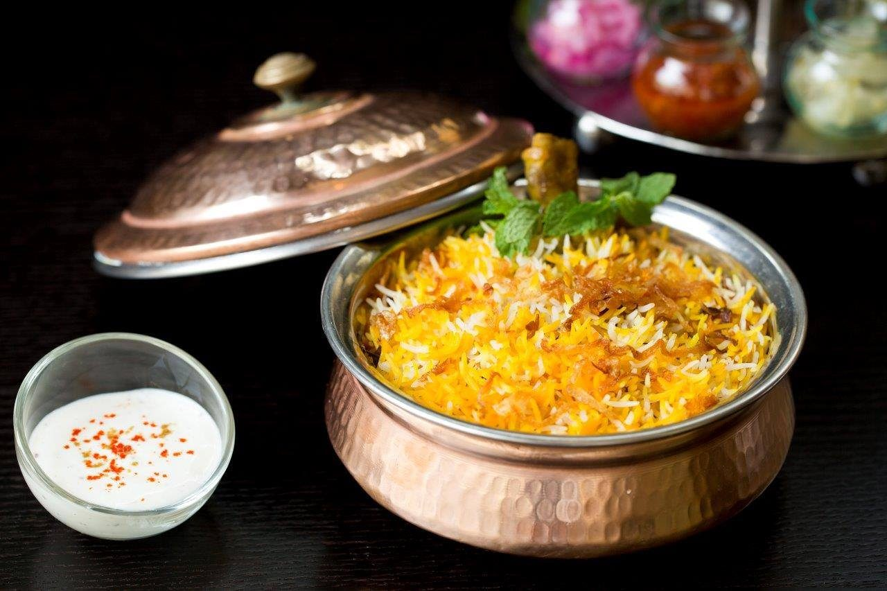 fine dining restaurants in dubai for best biryani in dubai - iz grand hyatt garhoud