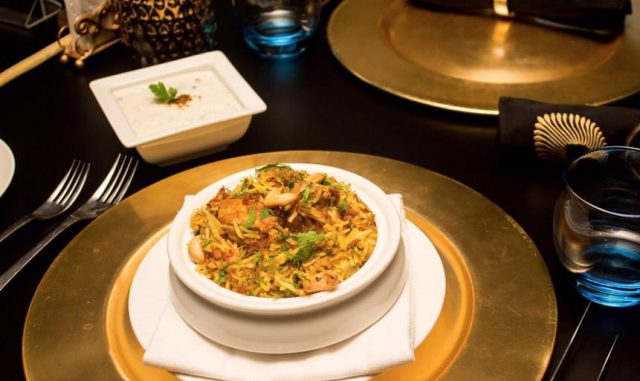 fine dining restaurants in dubai for best biryani in dubai - mahec dubai le meridien