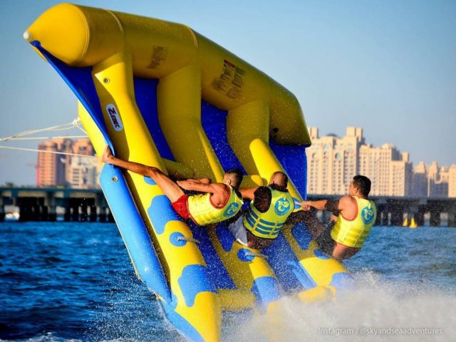 water sports in dubai - fly fish