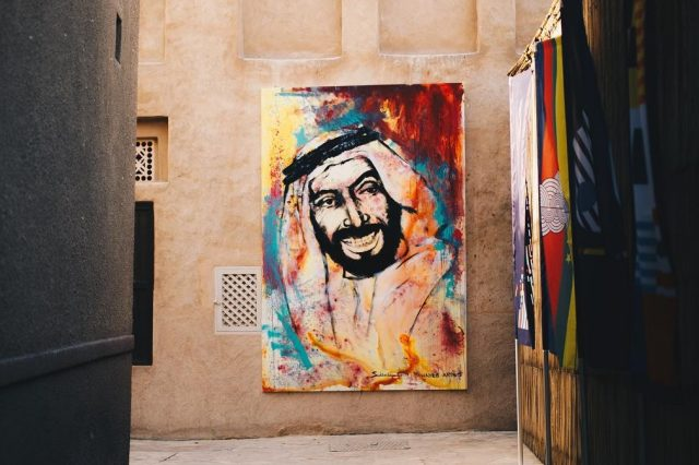 free things to do in old dubai - al bastakiya sikka art fair dubai