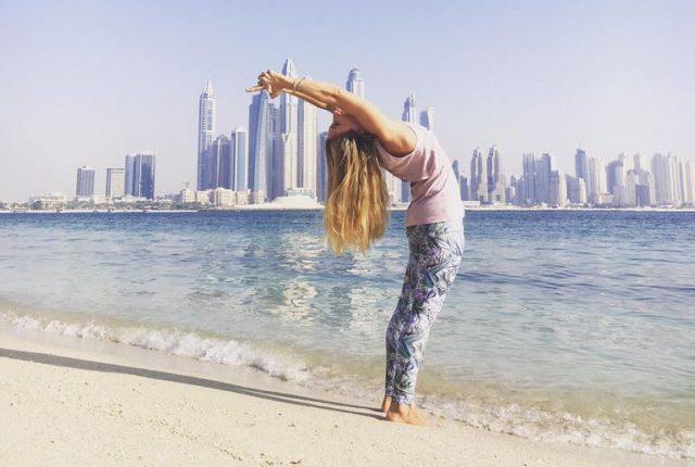 full moon yoga dubai - yoga classes in dubai fairmont the palm