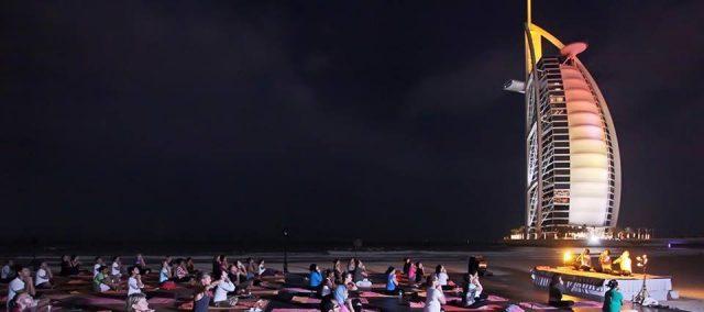full moon yoga dubai - yoga classes in dubai - talise spa madinat jumeirah dubai