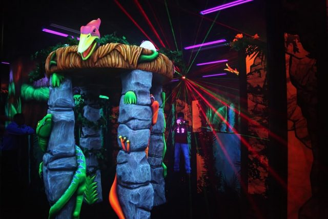 laser tag dubai thrill zone dubai