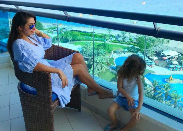 mommy blogger in dubai - baby nilia
