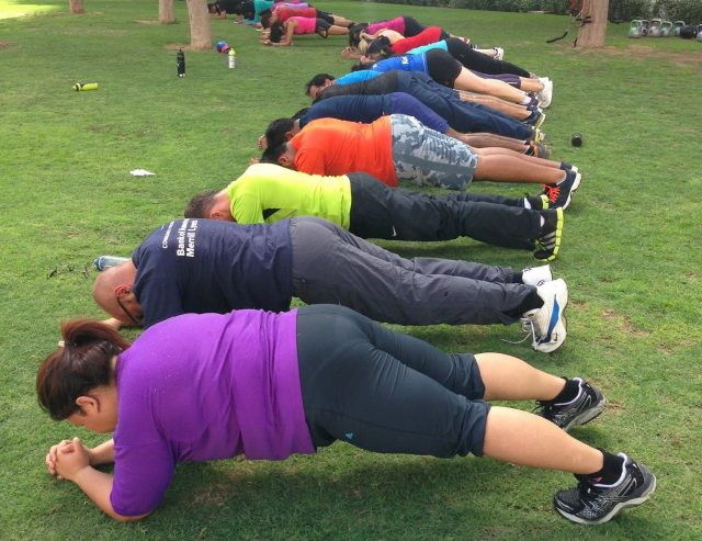 outdoor bootcamps in dubai universal fitness Cropped