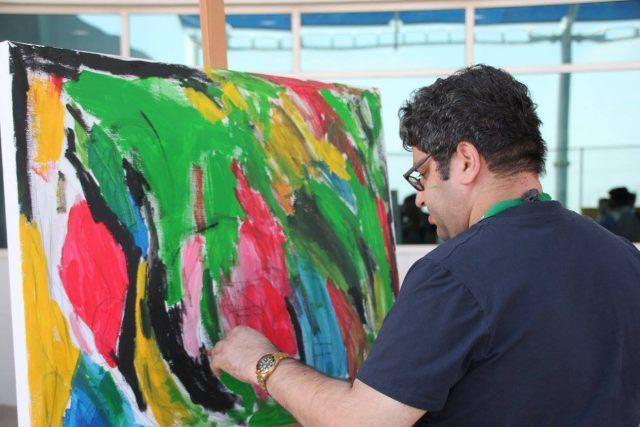 things to do in al bastakiya al fahidi dubai - mawaheb art gallery