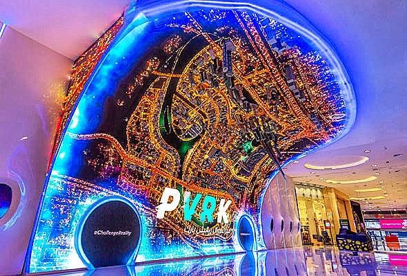 things to do in dubai mall VR park dubai virtual reality