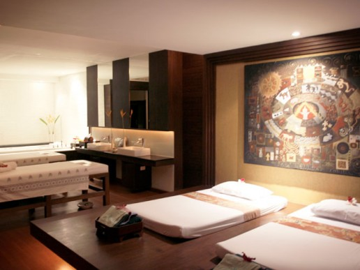 Massage rooms for traditional thai massage in Healthland Bangkok