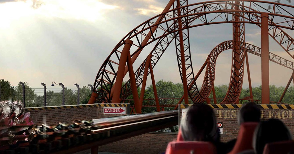 best roller coaster in dubai uae motiongate dubai capitol bullet train