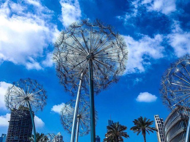 best parks in dubai - burj park