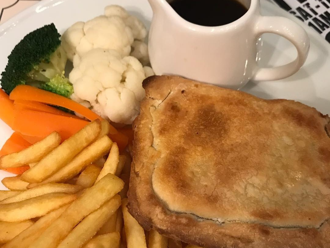 Chicken and Vegetable Pie at Crown & Lion