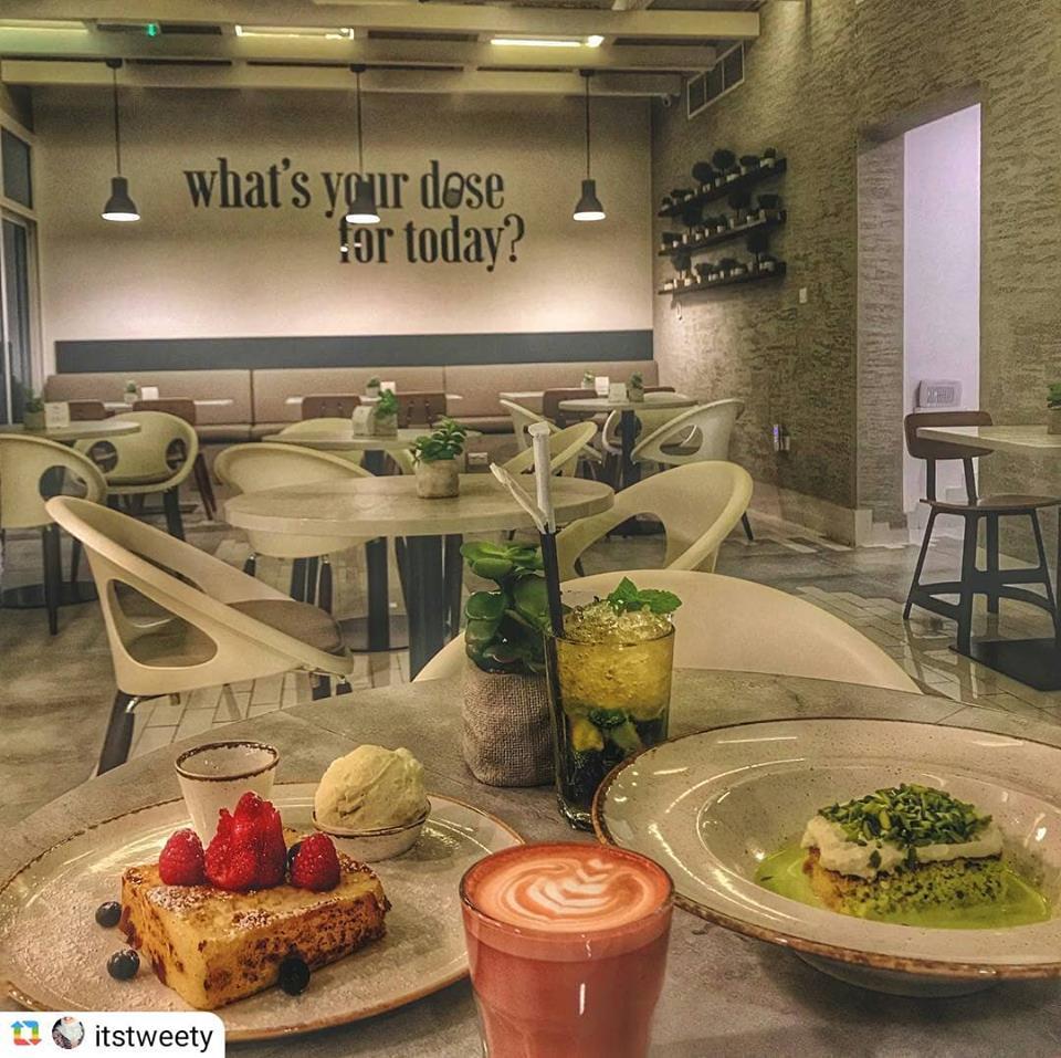DailyDose Café in Dubai