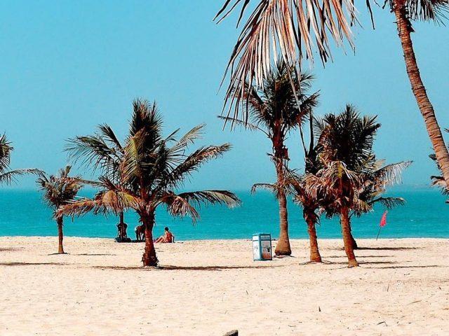 best parks in dubai - al mamzar beach park