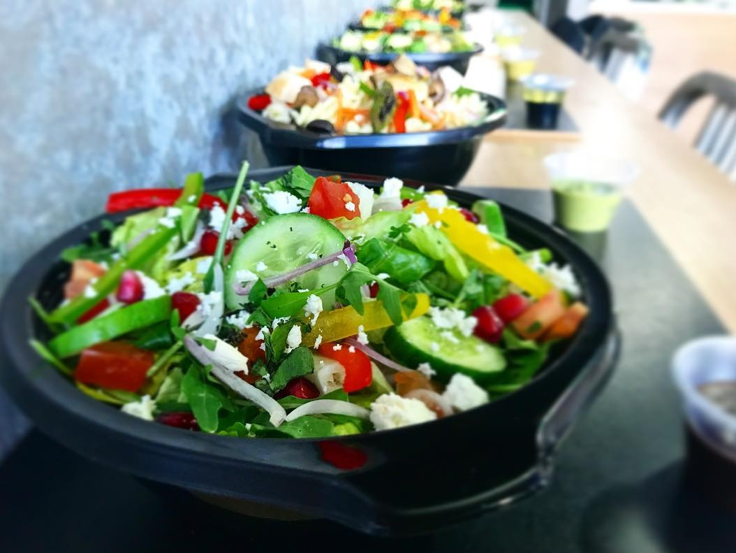 Richy's salads in Dubai