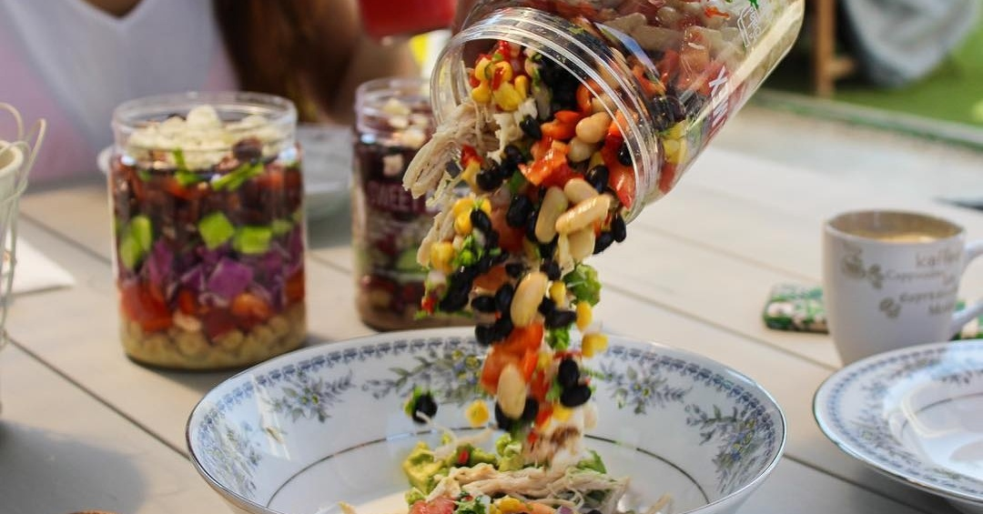 The Salad Jar salads in Dubai