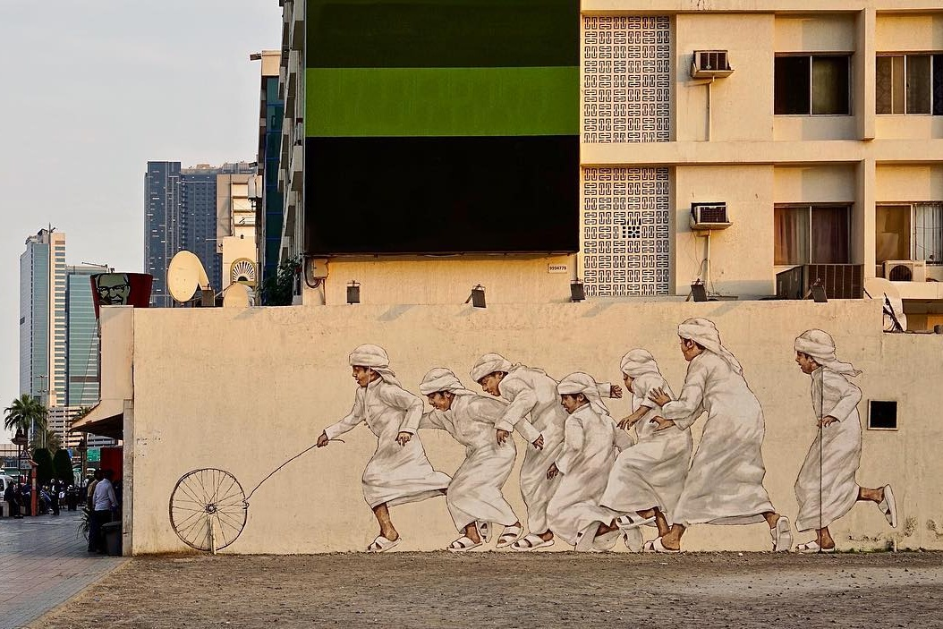 street art in satwa dubai 2