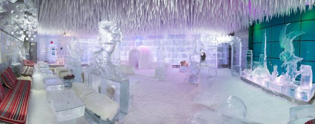 things to do in times square centre dubai - chillout ice lounge dubai