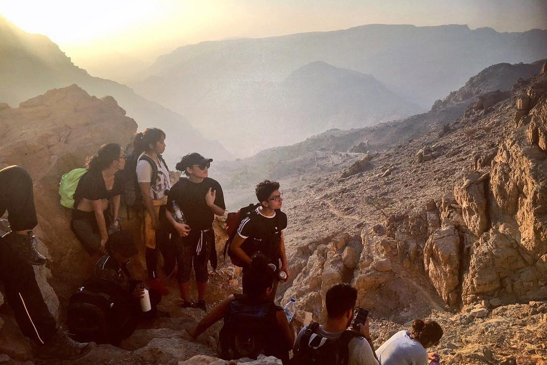 what to do in dubai this weekend - hiking uae
